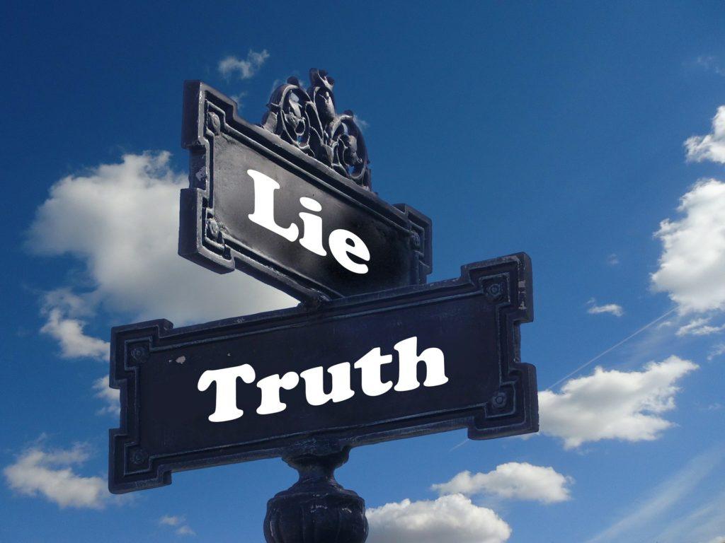 Lüge oder Wahrheit? Ein notorischer Lügner entscheidet sich oft für die Lüge.