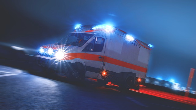 Ein Krankenwagen kommt, wenn man merkt: Ich brauche Hilfe.